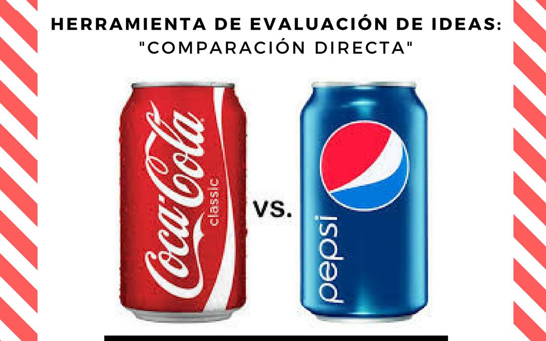 Comparación directa