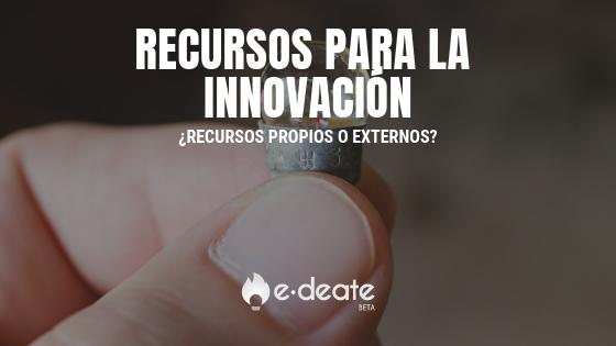 Recursos para innovar